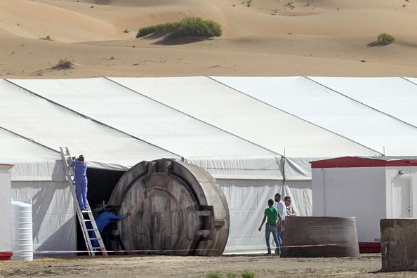 Sightings Of The Set Of Star Wars