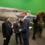 """The Duke Of Cambridge And Prince Harry Visit The """"Star Wars"""" Film Set"""