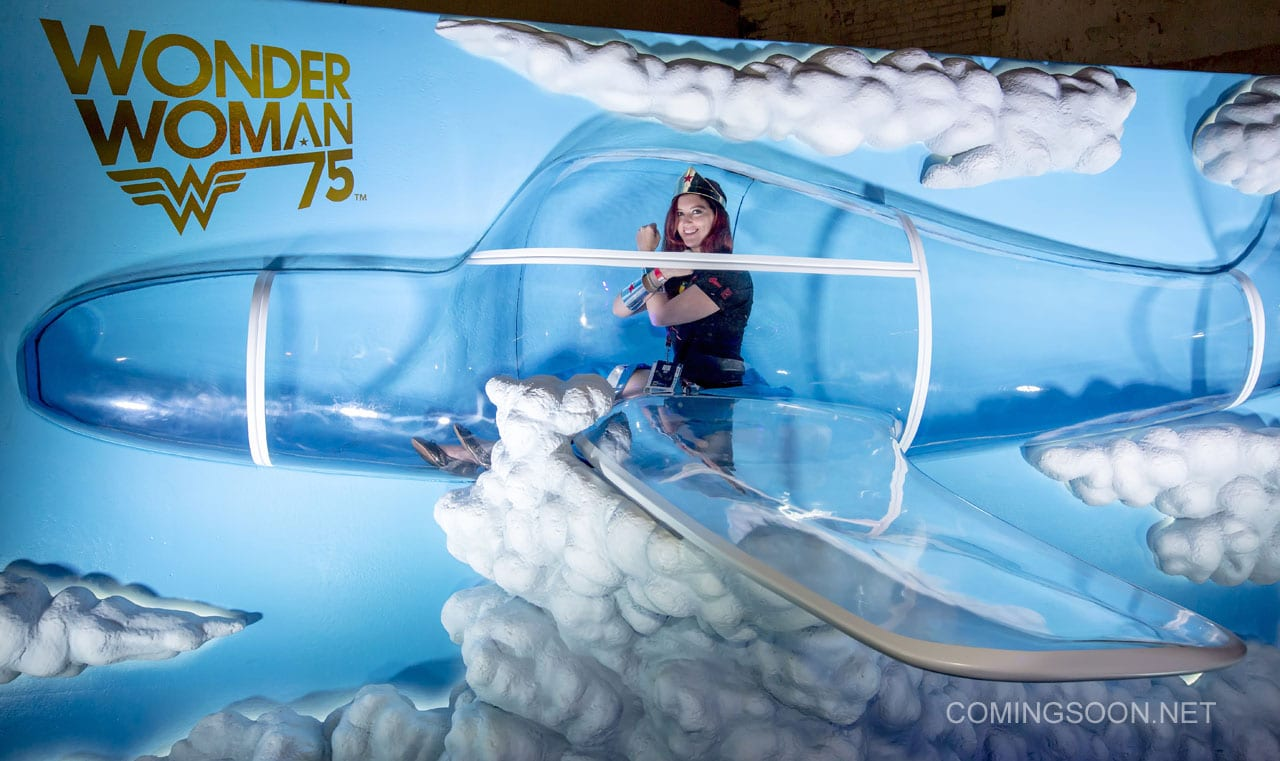 Wonder Woman Wednesday Invisible Jet Reveal at San Diego Comic-C