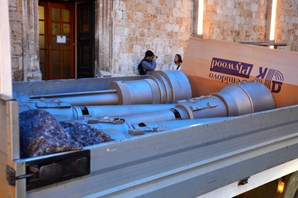 Dubrovnik: Zapoèelo snimanje osmog nastavka filma Star Wars